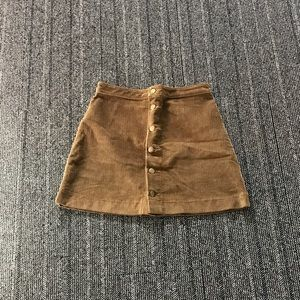 American apparel a-line skirt